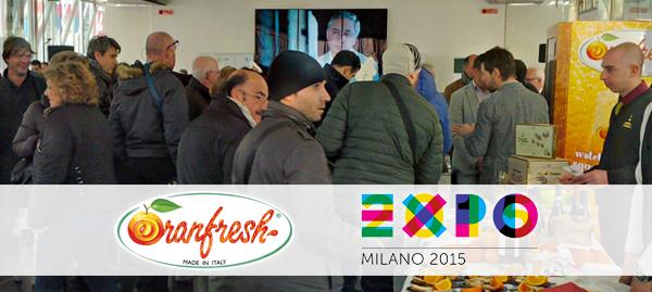 Oranfresh at Expo Milan 2015.