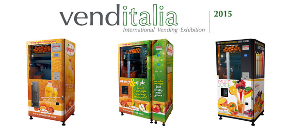 Oranfresh a Venditalia 2015 International Vending Exhibition.