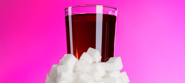 Six teaspoons of sugar in each can: red traffic light for some drinks