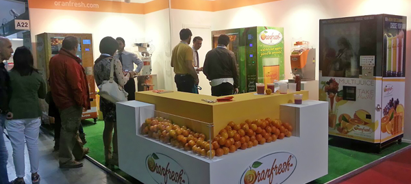 Oranfresh's great success at Venditalia.
