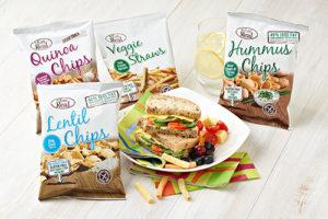 New vending range of healthier snacks