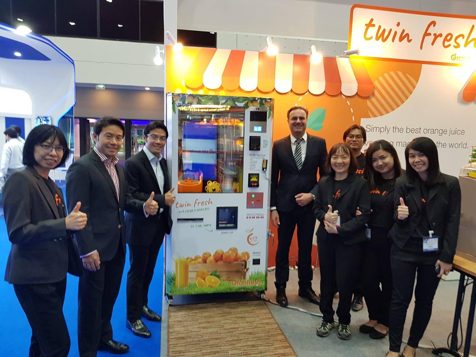 Oranfresh at VendASEAN 2019 in Bangkok