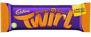 Limited edition Cadbury Twirl Orange returns
