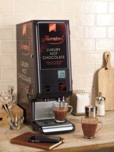 Ferrero is stirring up vending with Thorntons Luxury Hot Chocolate!
