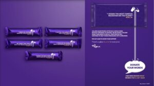 Inspiring stories shared on Dairy Milk bars