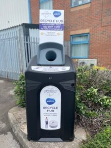 Vending machine company just got greener in recycling venture