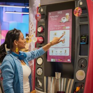 Costa Coffee trials hot and iced drink machines in Bristol
